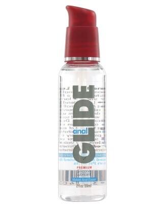 Anal Glide Silicone Lubricant - 2 Oz Pump Bottle