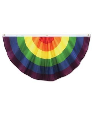 Rainbow Fabric Bunting