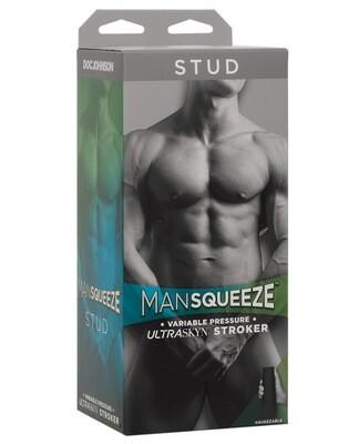 Man Squeeze Stud Ass - Vanilla