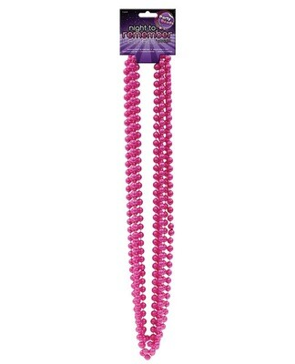 Night To Remember Party Beads -  Pink Pack Of 5 By Sassigirl