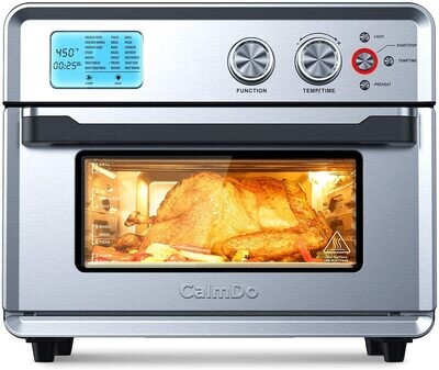 CalmDo Air Fryer Toaster Oven, 26.3 - To Purchase this Product Please Click on the Amazon Picture and Link Below