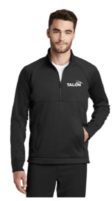 Talon - Mens New Era ® Venue Fleece 1/4-Zip Pullover