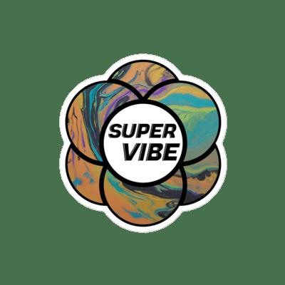SUPERVIBE Sticker