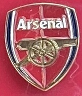 Arsenal FC (England) Logo Pin Badge