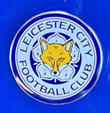 Leicester City FC (England) Logo Pin Badge