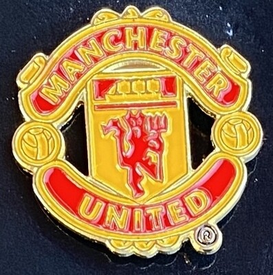 Manchester United FC (England) Logo Pin Badge