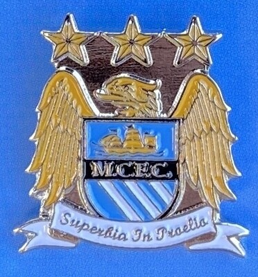 Manchester City FC (England) 1997-2016 Logo Pin Badge