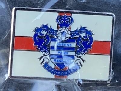 Queens Park Rangers (England) England Flag Rectangular