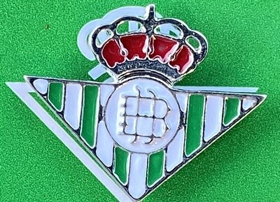 Betis Sevilla (Spain) Official Pin Badge Silver