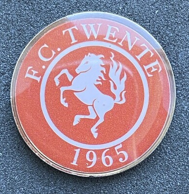 FC Twente (Netherlands) Round Pin Badge