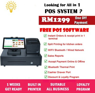 24-7 Tablet POS System Payment Terminal