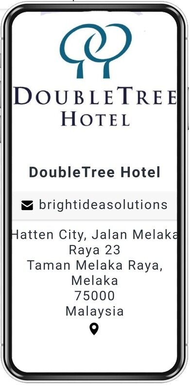 eBusiness Card for Hotels