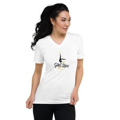 Silks Stars Unisex V-Neck T-Shirt