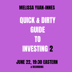 Quick & Dirty Guide to Investing, Part 2