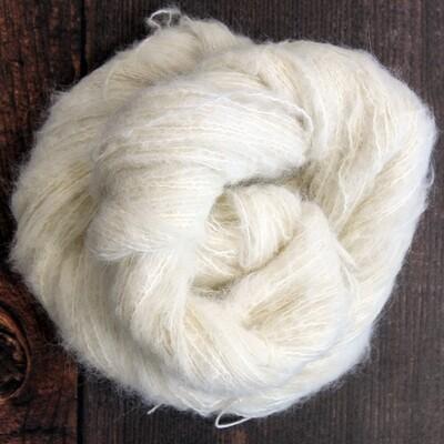 Brushed Baby Alpaca/Mulberry Silk -70/30 - 100g