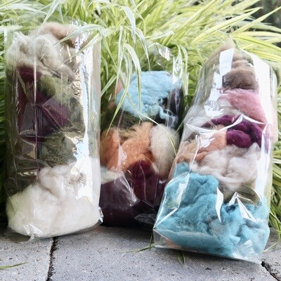 Cashmere 'Fluffs' - Mixed Bags