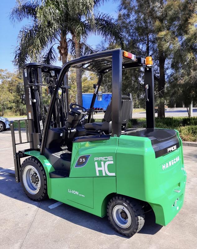 Pride HC Lithium 3.5 Tonne Forklift