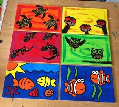 Tile Trivets and Placemats 20cm x 30cm