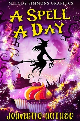 Witch Spell Set - Click to view SET of 3