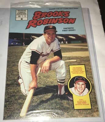 Brooks Robinson Magnum Comic Book