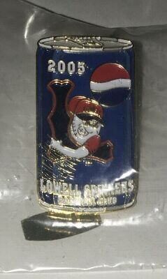 Lowell Spinners 2005 Pin Red Sox Pepsi