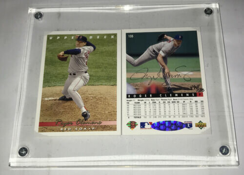Roger Clemens Red Sox Autograph UDA Authentication