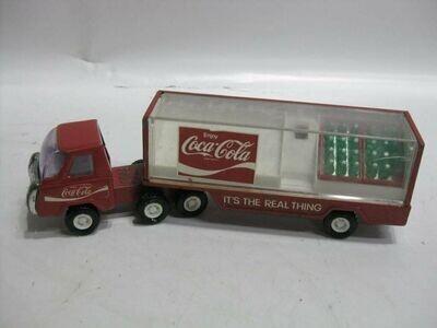 Vtg Buddy L Coca-Cola Semi Truck & Trailer