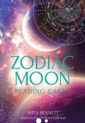 Zodiac moon oracle cards