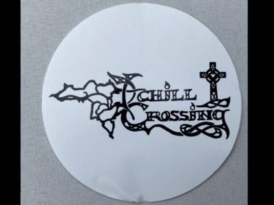 Achill Crossing 3 Inch Round Vinyl Sticker