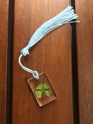 Small Rectangle 4 Leaf Clover