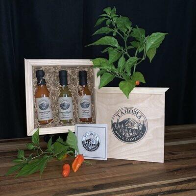 Hemlock Wooden Gift Box