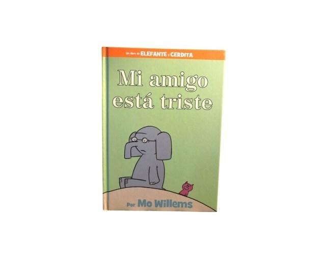 Elefante y Cerdita. Mi amigo está triste.