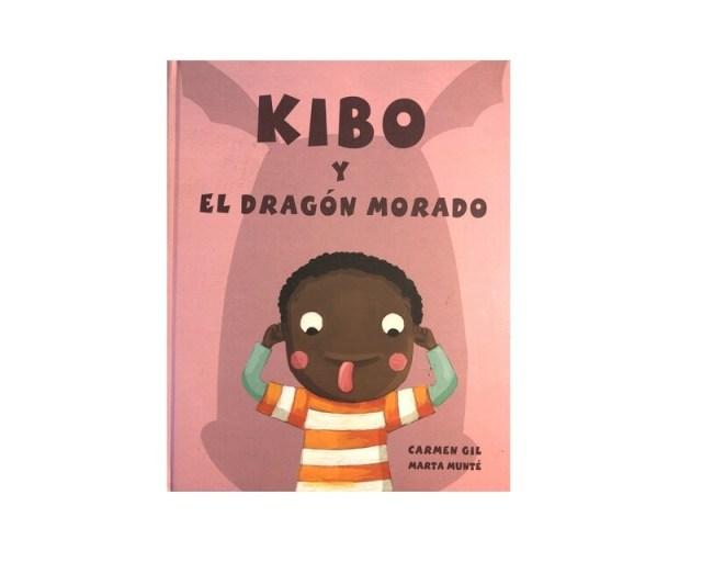 Kibo y el dragón morado.