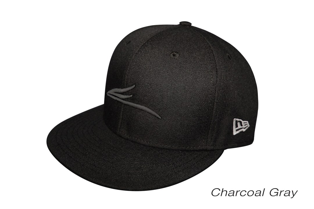 Eloh Projects Charcoal Gray on Black - Logo Cap