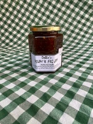Jam: Plum & Fig. Debbie's.