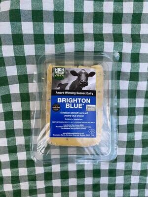 Cheese: Brighton Blue (150g). Cow milk. High Weald Dairy.