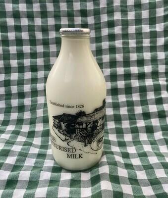 Milk. Whole. 1 pint. Aldhurst Farm.