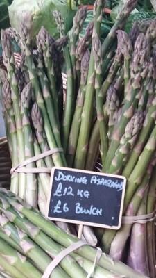 Asparagus. 500g bunch. Sondes Place Farm.