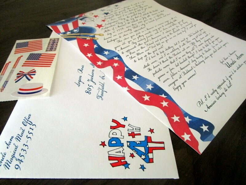 Letter from Uncle Sam