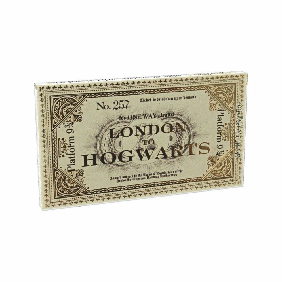 Jelly Belly Harry Potter Chocolate Hogwarts Express Ticket