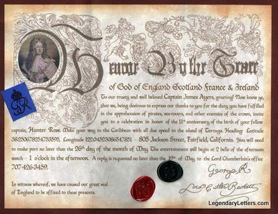 Pirate Letters of Marque