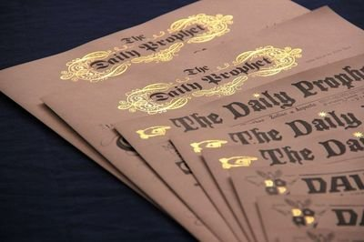 Wizarding Daily Newspapers