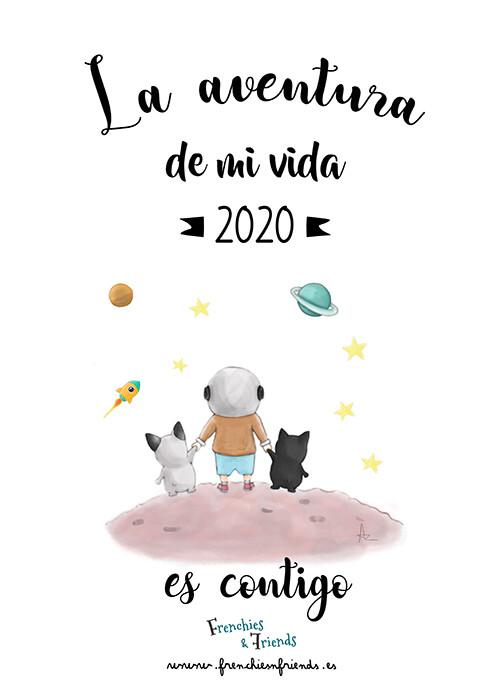 Calendario Frenchies & Friends 2020