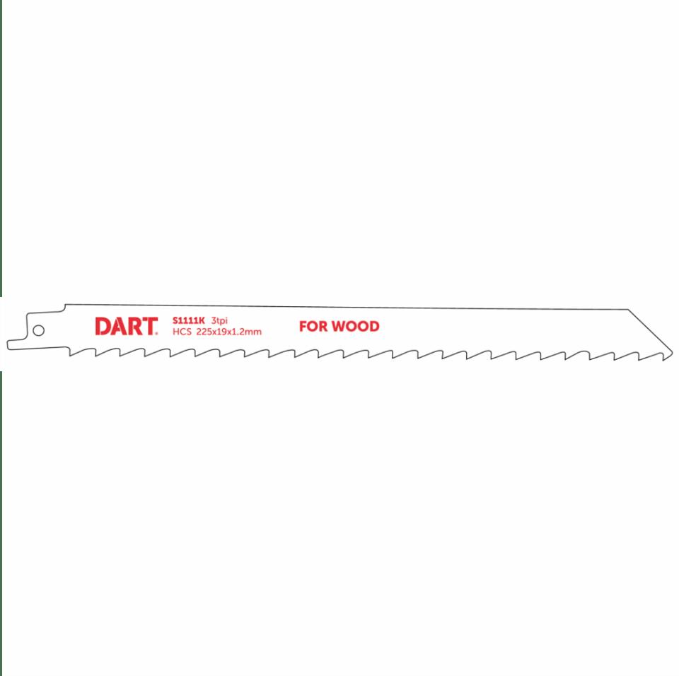 210mm x 3TPI Reciprocating Blades CV S1111K Pack of 5