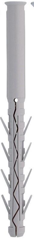 10.0 x 100mm  Friulsider TUP4 Nylon Plugs  Box of 100