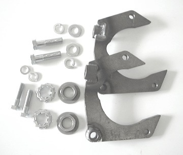 Mustang II Caliper Bracket Kit, for Camaro rotors