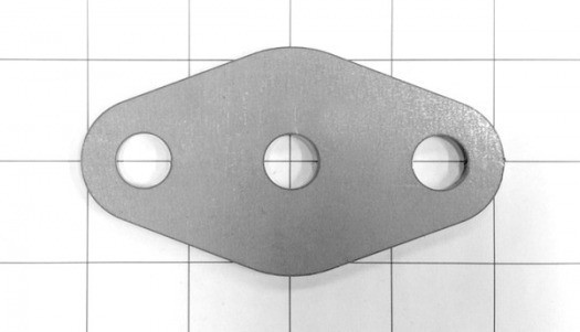 Spreader bar flange, 32 Ford, Front and Rear