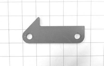 Transmission mount crossmember plate
