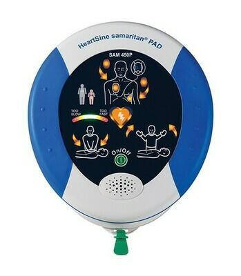 HeartSine® Samaritan® PAD 450P AED with CPR Feedback!