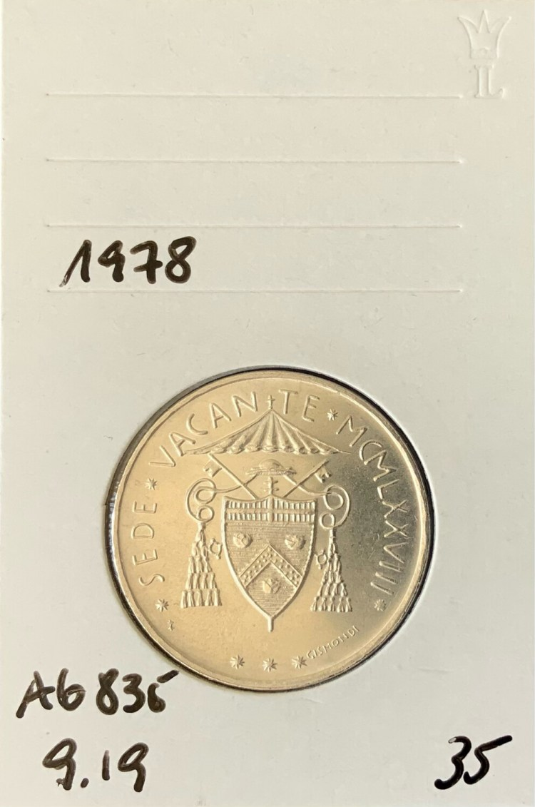 500 Lira Vatican 1978